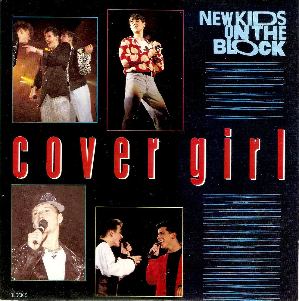 NEW KIDS ON THE BLOCK Cover Girl Vinyl Record 7 Inch CBS 1990